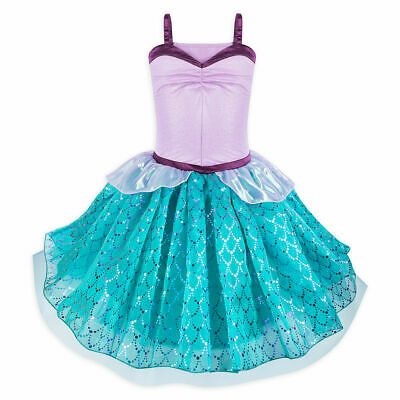 Disney Store Ariel Costume Tutu Dress Juniors The Little Mermaid Outfit NEW](Disney Tutu Outfits)
