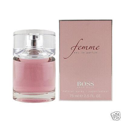 Hugo Boss Femme Eau De Parfum EDP 75 ml (woman) (Boss Hugo Boss Parfüm)