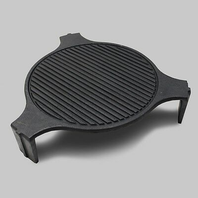 Cast Iron Plate Setter - Fits LARGE Big Green Egg Big Green Egg Plate Setter