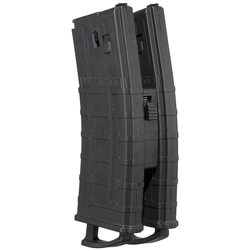 Tippmann TMC Magazine - 20 rds - 2 Pack w/Coupler - Black
