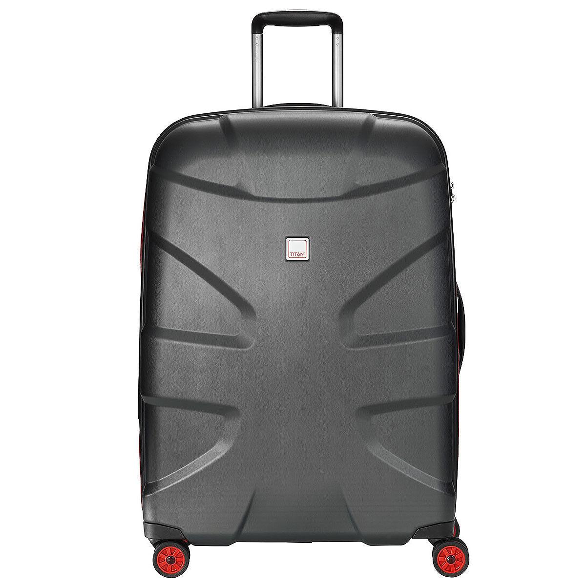 Titan X2 4-Rollen Polycarbonat 4-Rad Trolley Hartschale Koffer L 76 cm