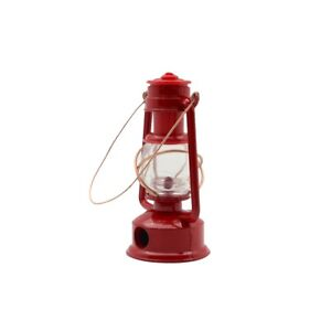 1:4 Scale Miniature Red Gas Camping Lantern Dollhouse Accessory Pencil Sharpener