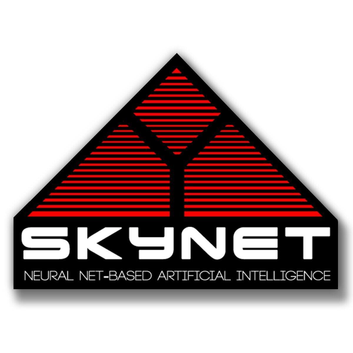 "Home Decoration - Vinyl Sticker Decal Skynet terminator movie Windows Car Phone Bumpers Laptop, 3"""