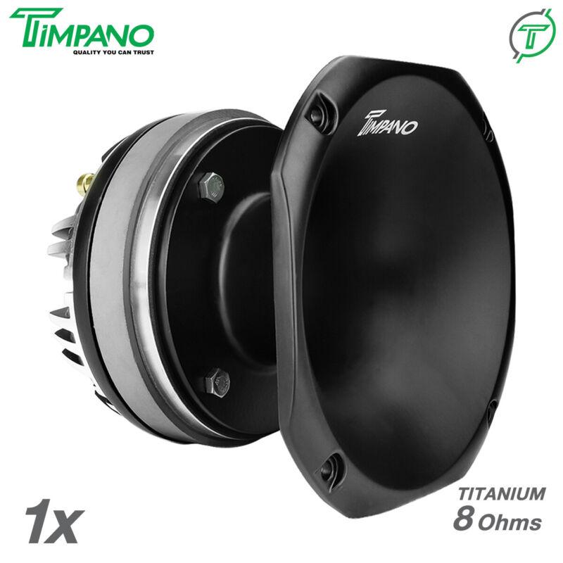 "1x Timpano TPT-DH2000 2"" Compression Driver Slim Aluminum Horn DH2000 200 Watts"