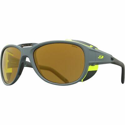 Julbo Explorer Sonnenbrille 2.0 Grey-Yellow Rahmen, Berg Photochrom Zerbra Le