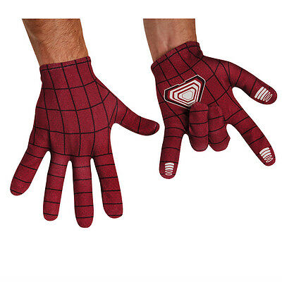 The Amazing Spider-Man 2 Adult Costume Gloves 2014 - Amazing Spider Man Handschuhe