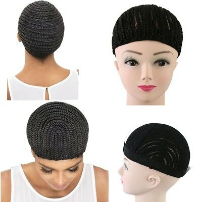 1Pc Black Wig Net Cap Elastic hairnet Cornrow Wig Making Braid Wig Cap Fashion