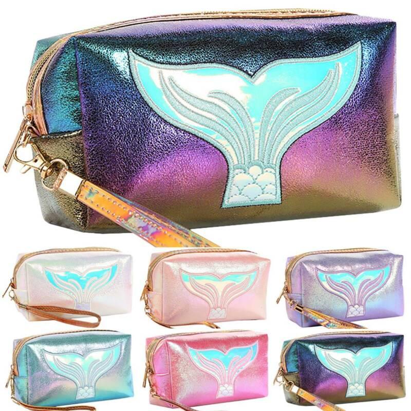 Women Cosmetic Make Up Bag Zipper Handbag Travel Toiletry Sm