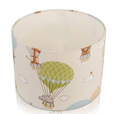Childrens Nursery Zoo Animals in  Hot Air balloons , Ceiling,Table Lamp Shade
