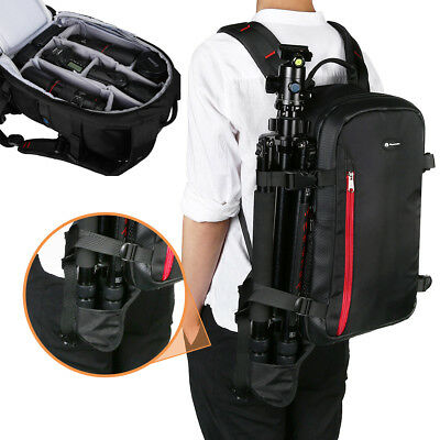 Multi Function Large Camera Shoulder Backpack Bag For Canon Nikon Sony Dslr