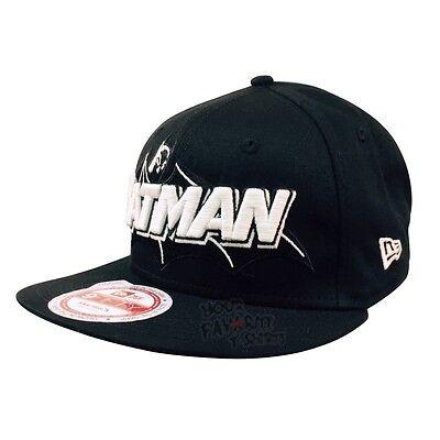 Batman Symbol Glow In The Dark DC Comics New Era Baseball Hat ()