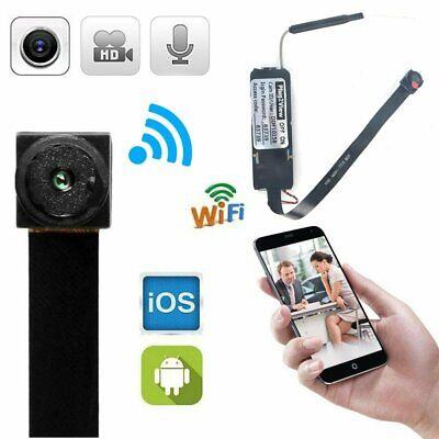 HD Mini Wireless WIFI Spy Camera Hidden DIY Module Home Security Micro Cam US