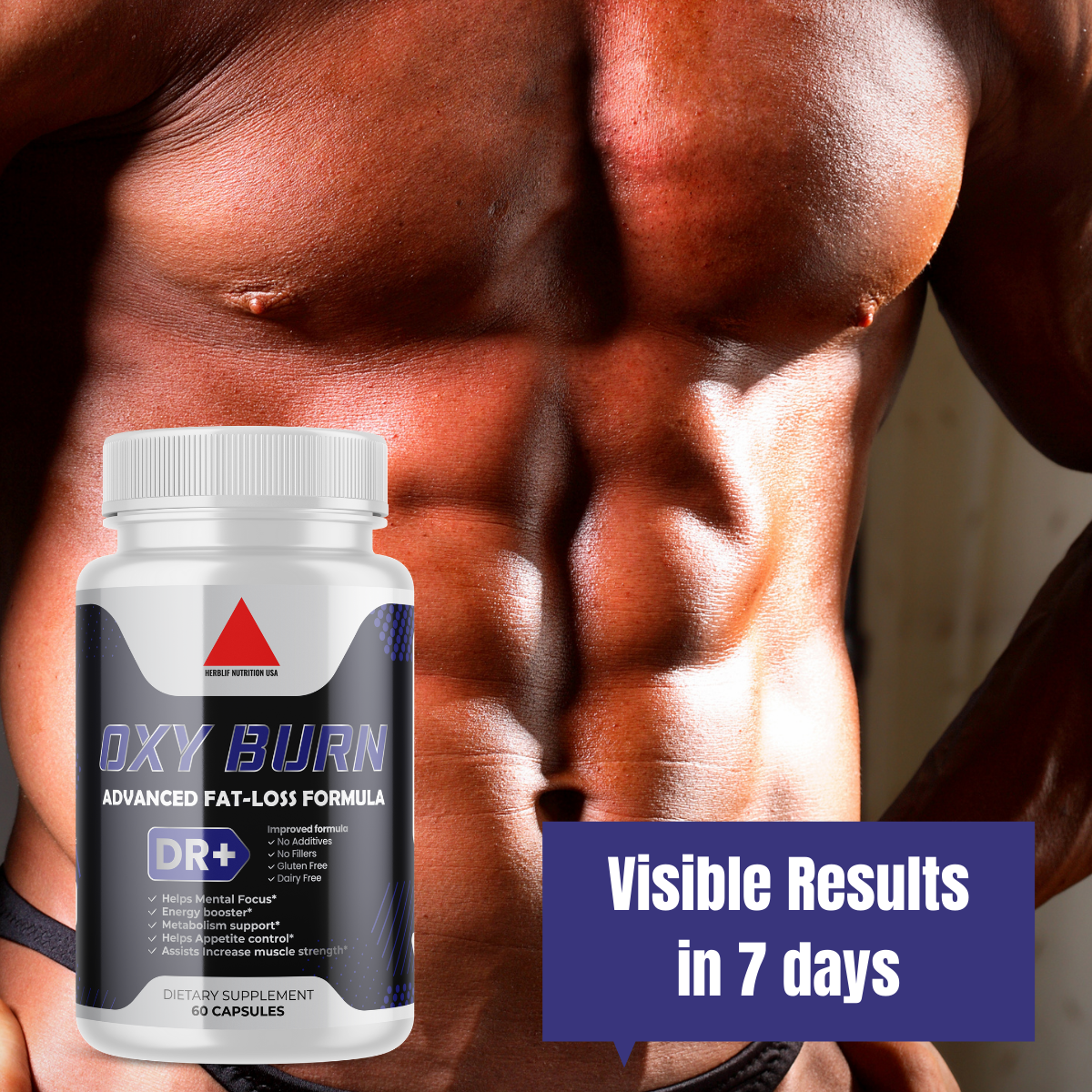 Belly Fat Burner Pills to Lose Stomach Fat, Weight Loss Supplement for Men