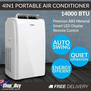 Free Delivery: 4 in 1 Portable Air Conditioner 64L - White Homebush Strathfield Area Preview