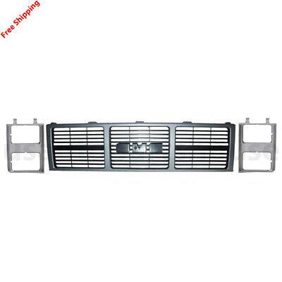 New For GMC C1500 PICKUP JIMMY Fits 1985-88 Front Grill & Head Light Door 3pic  K1500 Pickup Front Door
