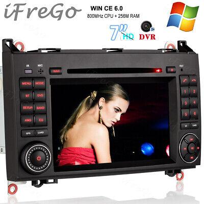 """Für Mercedes Benz Sprinter W906 GPS DVD HD Autoradio Navigation 7"""" Touchscreen"""