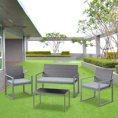 Set de muebles jardin terraza 4pc a 89,99€ - Ofertas.com