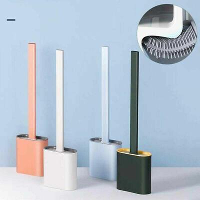 Scopino WC Silicone Setole Morbide Spazzola Per Pulizia Base Set Da Toilette dfh
