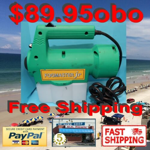 Fogmaster Jr. Electric Fogger for Sanitizing & Disinfecting - Model 533010CA