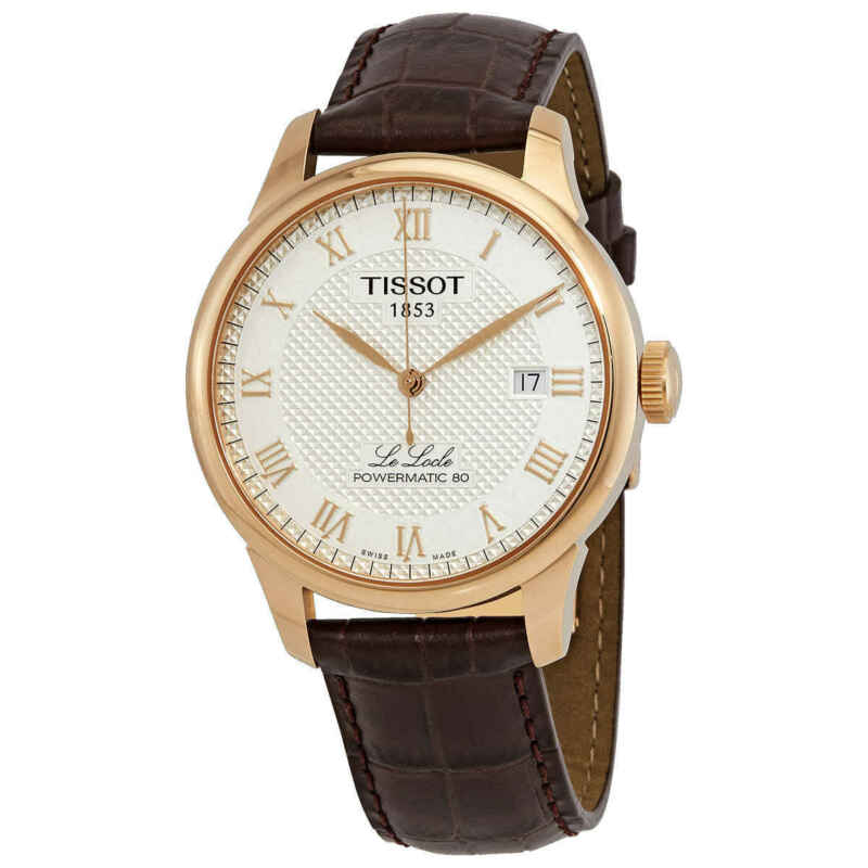 Tissot Le Locle Automatic Silver Dial Men Watch T006.407.36.033.00
