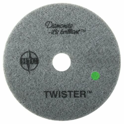 """Americo Manufacturing 435527 Twister Green 3000 Grit Floor Pad (2 Pack), 27"""""""
