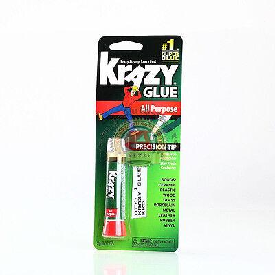 Original Krazy Glue Crazy Super Glue All Purpose Instant Repair Free Shipping