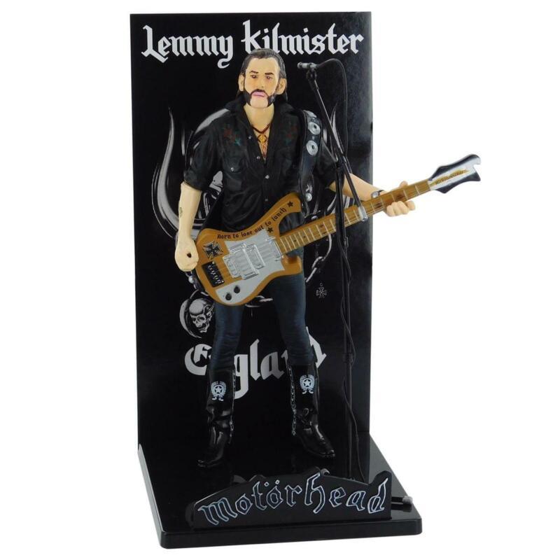 Motorhead Lemmy Kilmister Deluxe Figure Rickenbacker Guitar Cross