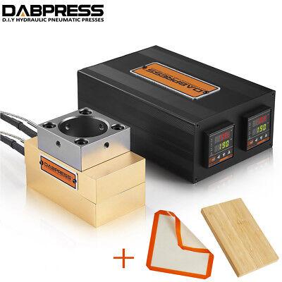 3x5 Rosin Press Plate Kit Rosin Press Machine Silicone Mat Bamboo Plank