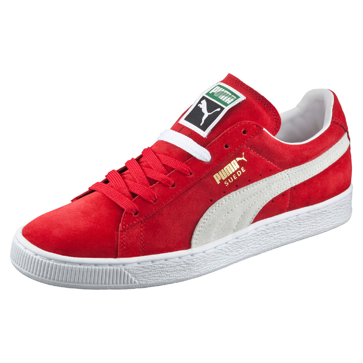 Puma Suede Classic 352634 Sneaker Uomo Rosso Team Regal Red/White 05 w8E