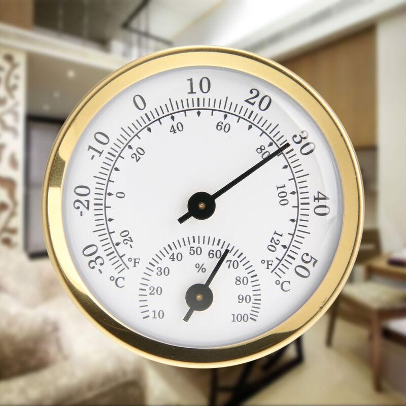 Indoor Analog Humidity Temperature Meter Gauge Thermometer H