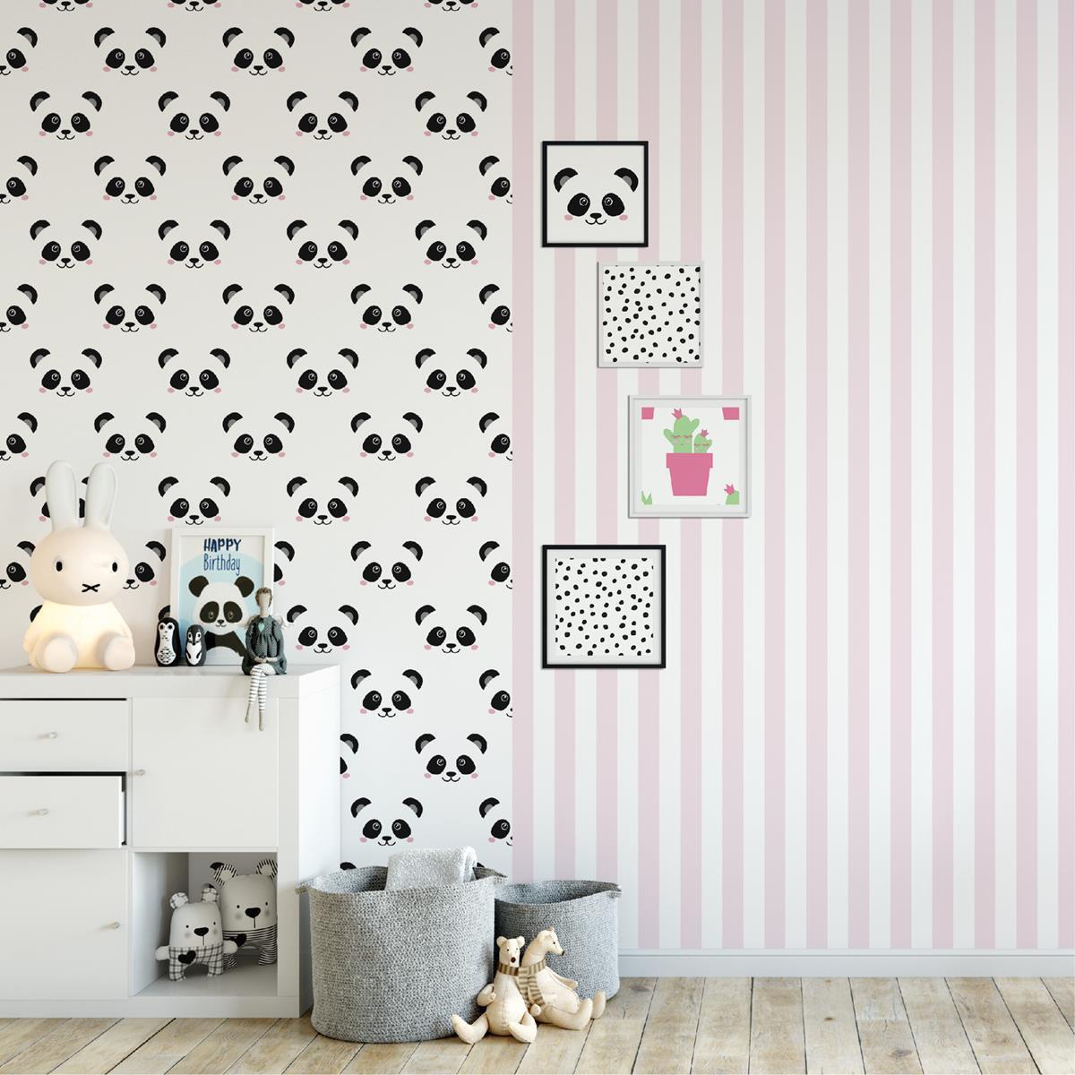 Vliestapete Streifen Rosa Weiß Schmal Fabulous World Tapete 67103 4/ EUR  3,56