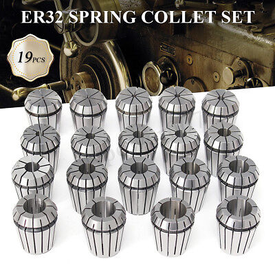 Er32 Collet Set 2mm To 20mm In Metric Accurate High Accuracy Cnc 0.003mm