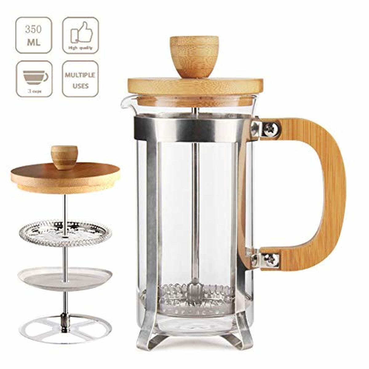 French Press Coffee/Tea Maker 12OZ by Sivaphe Espresso Press