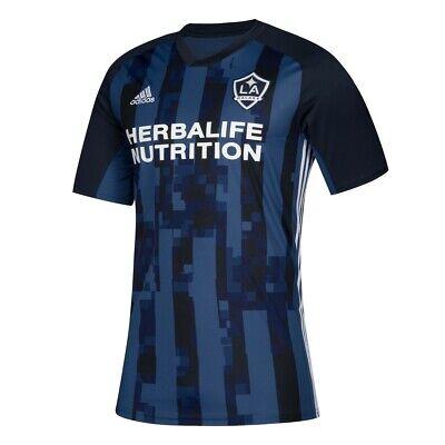 LA Galaxy MLS Adidas Men's Blue Official Climalite Team Replica Jersey