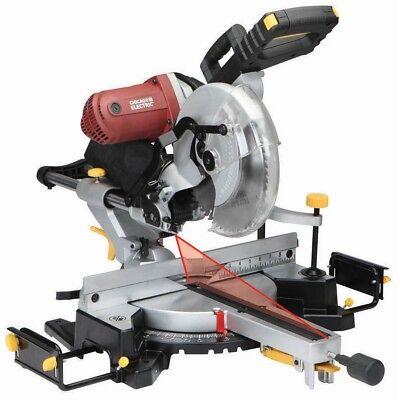 12 Double-bevel Sliding Compound Miter Saw Laser Guide Trim Moulding