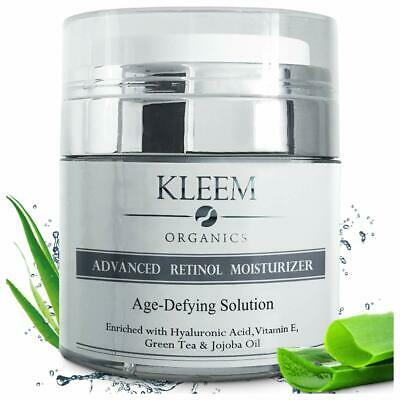 Kleem Organics Anti Aging Retinol Cream for Face 2.5% Retino