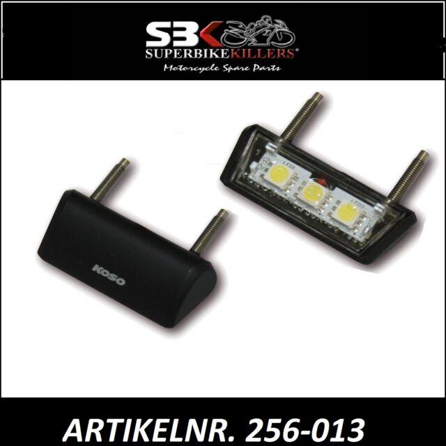 KOSO LED LICENSE PLATE LIGHT NUMBER PLATE ,Yamaha R6 RJ03,RJ05,RJ09,RJ11,15