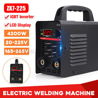 4200w 225a Digital Electric Welding Machine Igbt Inverter Mma Arc Stick Welder