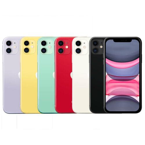 Apple iPhone 11 Unlocked 64GB 128GB 256GB   Verizon AT&T T-Mobile   Very Good