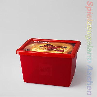 LEGO Ninjago STORAGE BOX L Aufbewahrungsbox Rot Volume: - Rot Ninjago