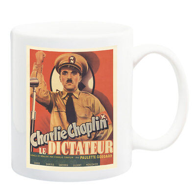 Great Dictator Charlie Chaplin Filmposter Becher - Charlie Chaplin-film Poster