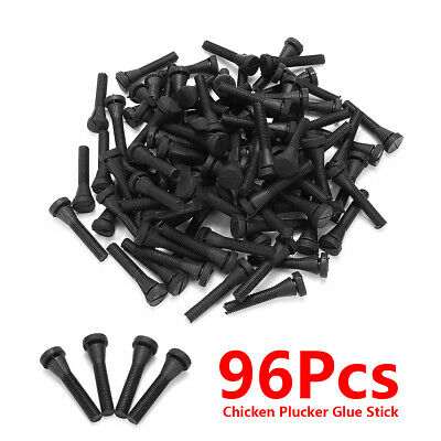 96 Chicken Plucker Picker Finger Feather Remover Rubber For Quail Duck Goose Hen
