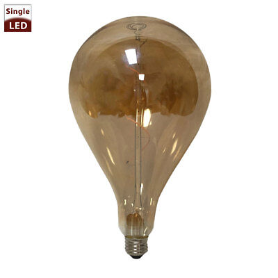 Air Balloon Shaped Tinted Vintage Edison E26 Medium Base Dimmable LED Light (Light Light Bulb Balloon)