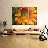 US SHIP Canvas Print Home Decor Wall Art Painting-Sunflower Flora Framed