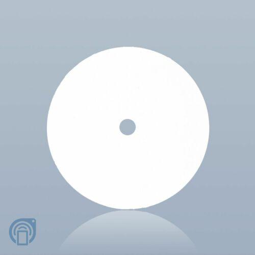 (Qty 20) GoToTags Blank White On-Metal NFC Tag Sticker NTAG213 30mm Circle Hole