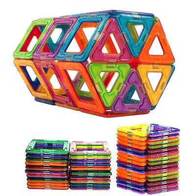 Kids Building Toys (50Pcs All Magnetic Building Blocks Construction Children Toys Educational)