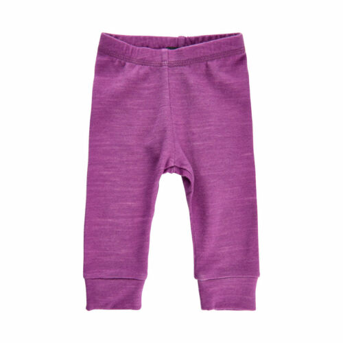 Eco Merino Wool - Bamboo Baby Toddler Base Layer, Bottoms - 7 Colors, 6 sizes