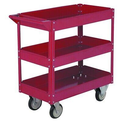 16 X 30 Three Shelf Steel Service Cart