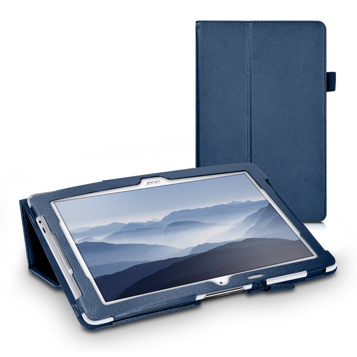 Image of Tablethutbox Slim Smart Case Cover For Acer Iconia One 10 B3-a30 / A3-a40 Tab