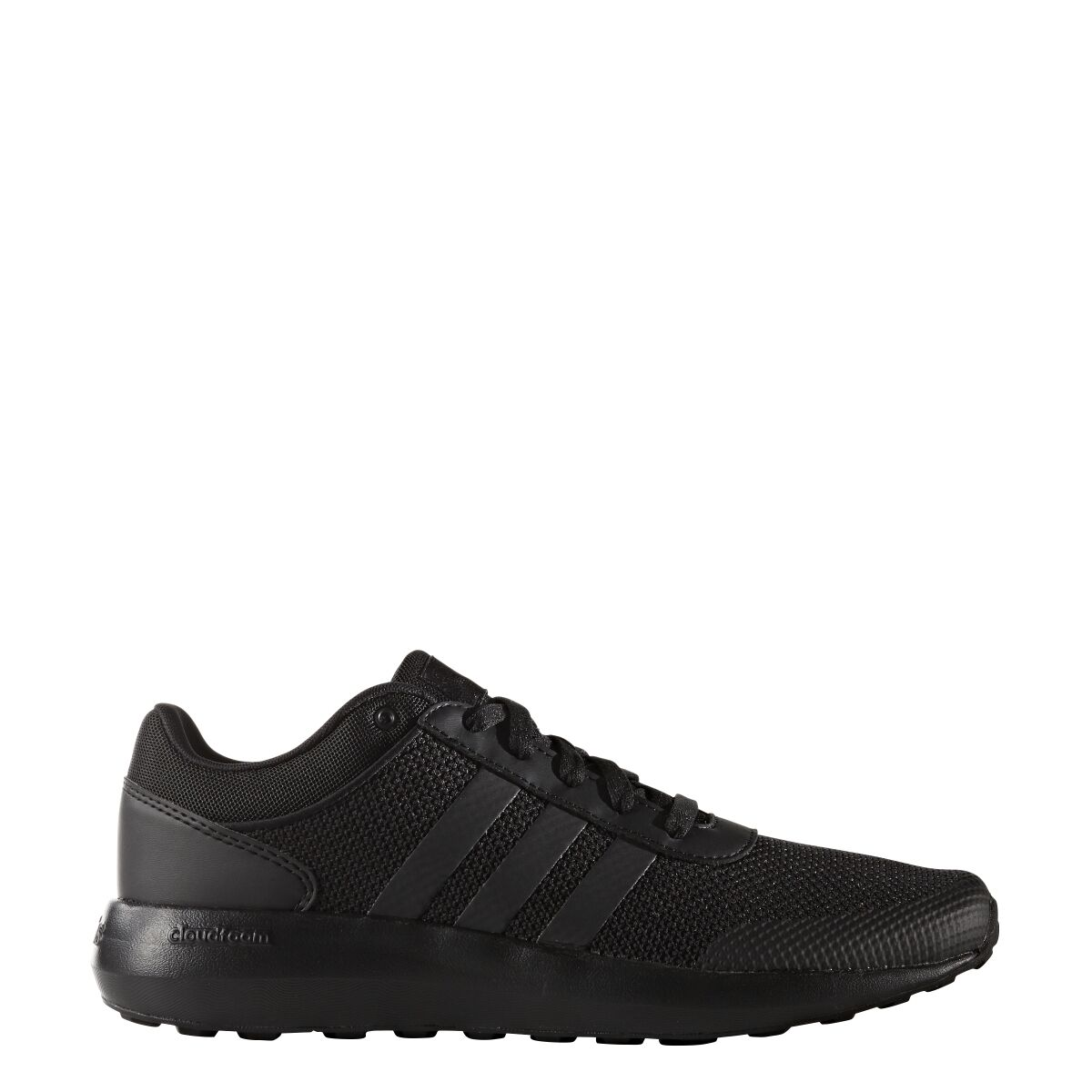 Mens Adidas NEO Cloudfoam Race Black Sneaker Athletic Sport Shoes B74372 10-12.5